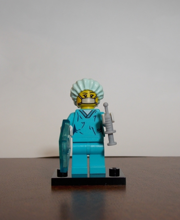 Sealed Series 6 CMF Surgeon