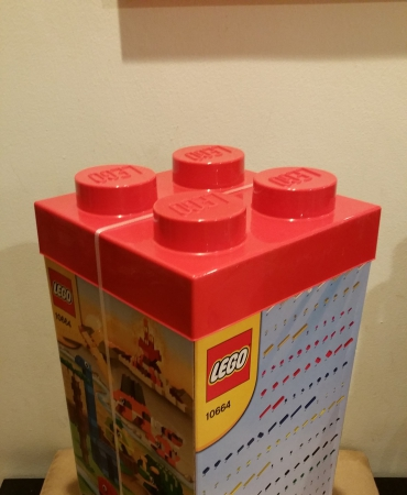 Lego 10664 Creative Tower 1600 Pieces with storage box.