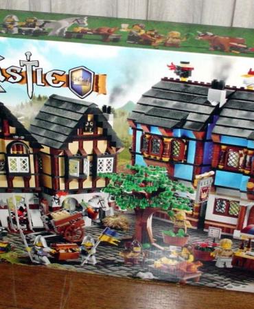 LEGO Castle Medieval Market Village (10193) New in Box, Retired, Rare, Kingdoms