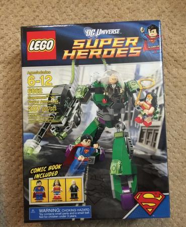 6862-2: Superman Vs Power Armor Lex