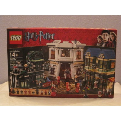 Lego 10217 Harry Potter Diagon Alley - Retired - NISB