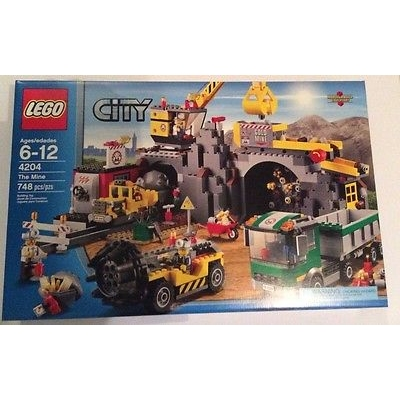 Lego City The Mine 4204 **New and Sealed**