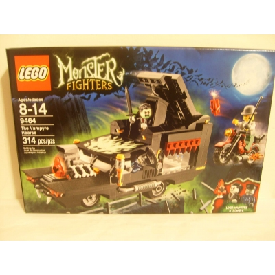 Lego Monster Fighters set 9464 The Vampyre Hearse