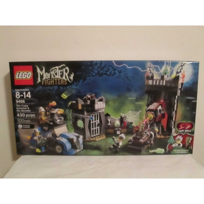Lego Monster Fighters set 9466 The Crazy Scientist & His Monster
