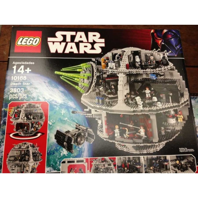10188 Death Star New in Box