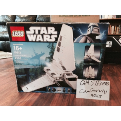 10212 UCS Imperial Shuttle Sealed