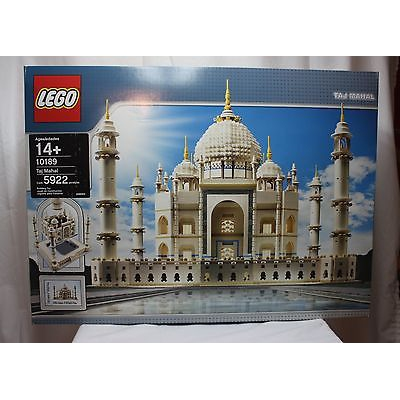 Lego 10189 Taj Mahal from 2008 SEALED