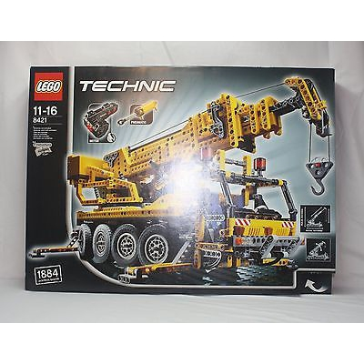 New Lego Technic 8421 Mobile Crane from 2005 SEALED