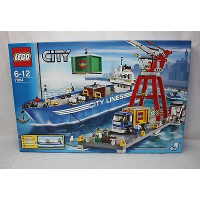 New Lego City 7994 City Harbour from 2007 SEALED