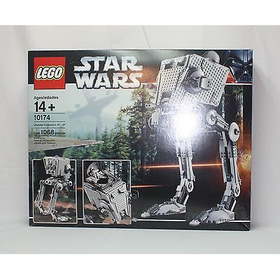New Lego Star Wars 10174 UCS Imperial AT-ST from 2006 SEALED