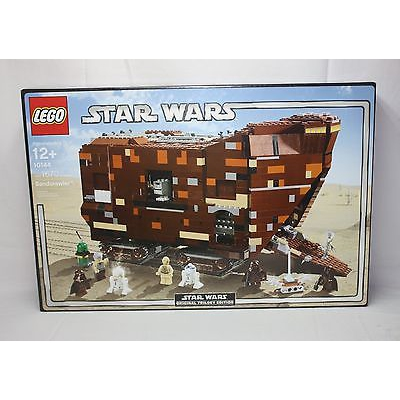 New Lego Star Wars 10144 SandCrawler from 2005 SEALED