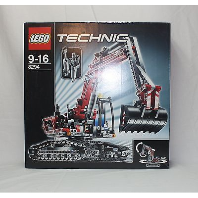 New Lego Technic 8294 Excavator from 2008 SEALED