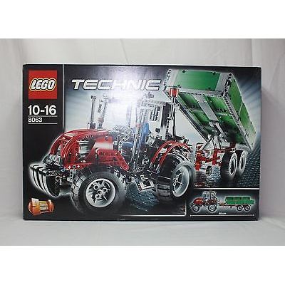New Lego Technic 8063 Tractor with Trailer from 2009 SEALED
