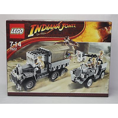 New Lego 7622 Indiana Jones Race for the Stolen Treasure from 2008 SEALED