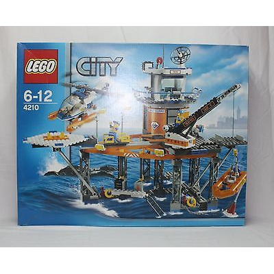 New Lego City 4210 Coast Guard Platform from 2008 SEALED