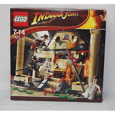 New Lego 7621 Indiana Jones and the Lost Tomb from 2008 SEALED