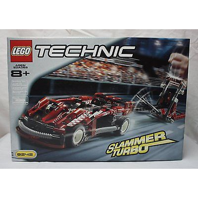 Lego Technic Slammer Collection (8236, 8237, 8238, 8240, 8242 and 8241) SEALED