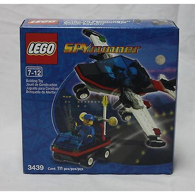 New Lego Town 3439 Spy Runner from 2000 SEALED