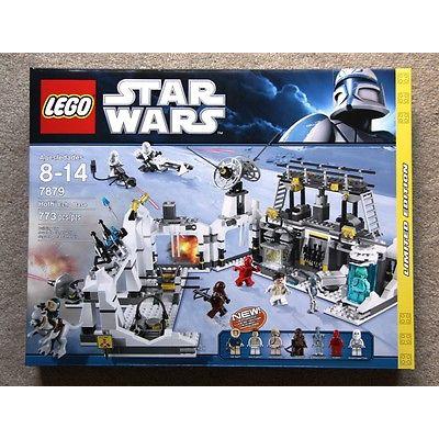 RARE RETIRED LEGO STAR WARS HOTH ECHO BASE SET 7879 (2011) NEW SEALED