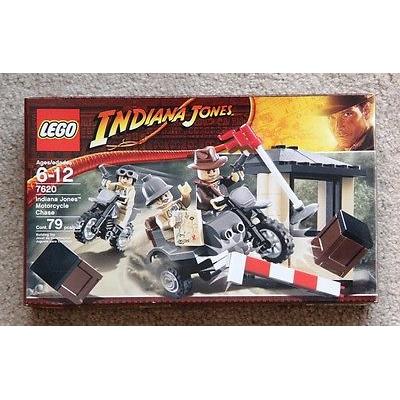 Rare LEGO Indiana Jones Motorcycle Chase Set 7620 (2008) Retired New Sealed
