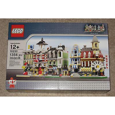 LEGO Creator Mini Modulars Set 10230 (2012) New Sealed Retired Corner Cafe