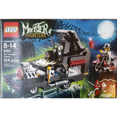 Lego Monster Fighters Vampire Hearse 9464