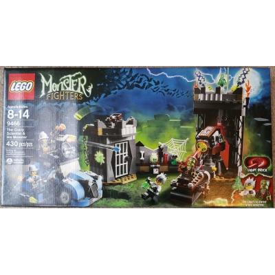 Lego Monster Fighters 9466 The Crazy Scientist & His Monster