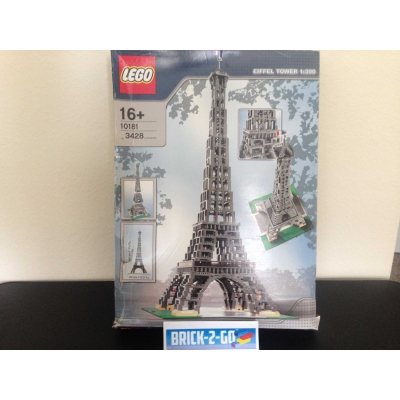 LEGO Eiffel Tower - Sculptures 10181 Sealed Bags, Damaged Box