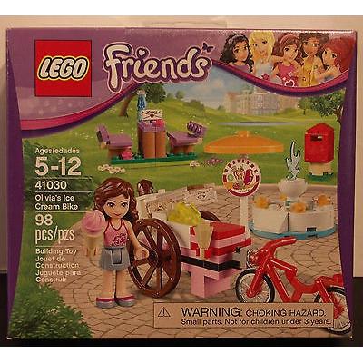 Friends Olivia's Ice Cream Bike set (41030) New in Sealed Box