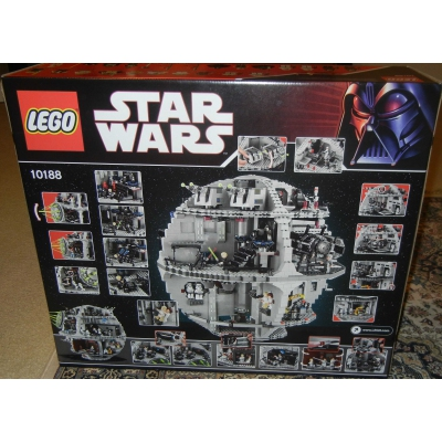 Death Star 10188 New, factory sealed, stinkin' awesome!