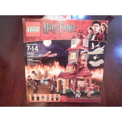 Lego 4840 HP The Burrow New in Box