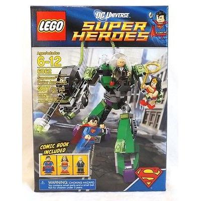 LEGO DC SUPER HEROES SET 6862 SUPERMAN VS POWER ARMOR LEX WONDER WOMAN NISB