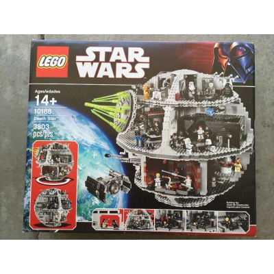 Lego Star Wars Death Star (10188) New Factory Sealed. Free Shipping.