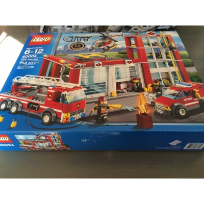 Lego City 60004 Fire Station NISB, SOLD OUT