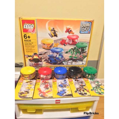 Lego 65535 X-Pod Play Off Collectors Pack Rare Game Set 8 Extra X-Pods 13 total Retired
