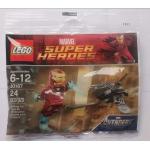 Iron Man vs. Fighting Drone #30167  Polybag