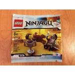 Ninjago Dareth vs. Nindroid Polybag (Toys R Us Exclusive 5002144 )
