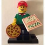Lego 71007 Series 12 Collectible Minifigures PIZZA DELIVERY GUY MINIFIGURE ONLY