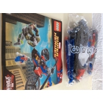 Lego 76016 Marvel Super Heroes Spider-Man Spider Helicopter Rescue NO MINIFIGURES
