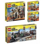 Lego The Lone Ranger Western New Sealed Retired 4 Sets 79111 79107 79107 79110