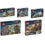 LEGO Pirates of the Carrabean 5 NEW Sealed Retired Sets 4181 4182 4183 4192 4194