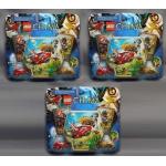 NEW SEALED LEGO 70113 LEGENDS of CHIMA: CHI BATTLES STARTER SET of 3