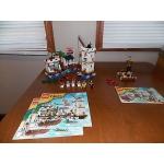 Lego Pirates 6242 Soldier's Fort 6240 Kracken Attackin  Excellent Condition