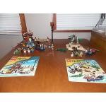 Lego Pirates 6253 Shipwreck Hideout 6241 Loot Island 100% complete EUC