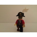 Lego Pirate Captain Minifigure from series 8