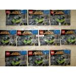 Lot of 10 (quan 10) LEGO 30303 The Joker Bumper Car