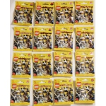 RARE Series 1 Collectible Minifigures complete set of 16 unopened sealed