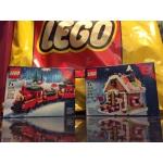 Holiday Blowout Bundle!!! NISB Technic 9394, Christmas Train 40138 & Gingerbread House 40139