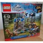 Lego 75920 Jurrasic World Raptor Escape with Charlie, Echo - New, in sealed box