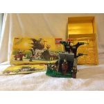 Vintage 1987  LEGO Castle Set 6066 Camouflage Outpost MANUAL+BOX *REDUCED PRICE*